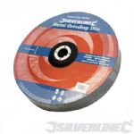 Silverline Metal Grinding Disc - 100 x 6 x 16